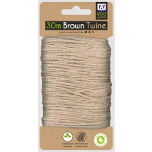 Eco Brown Recycle Twine 30M