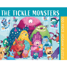100pc Jigsaw Puzzle Tickle Monsters