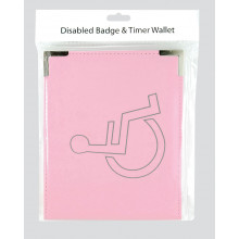S9610 Disabled Badge Wallet Pink