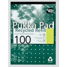 A4 Pukka Recycled Refill Pad N/F/M 100pg