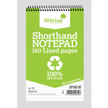 Recycled Shorthand Notebook 160 Pages