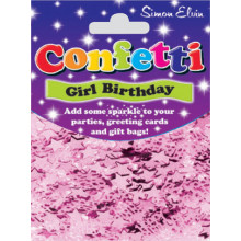 Confetti Happy Birthday Pink CON802