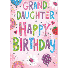 Greetings Cards Grand Daughter