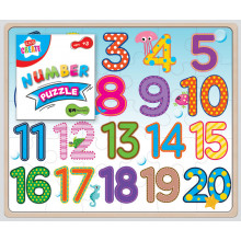 Kids Create Wooden Alphabet/Number 361203 Jigsaw Puzzle 2 Assorted