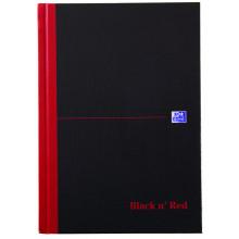 S2804 A5 Black'N'Red Cash Book