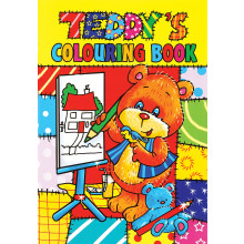Teddy's Colouring Books 4 Asstd 64 Pages
