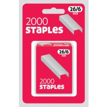 Staples 26/6 2000 Carded