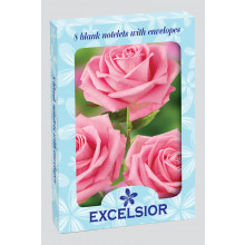 Excelsior Notelets Box 8 Asst 2 Designs