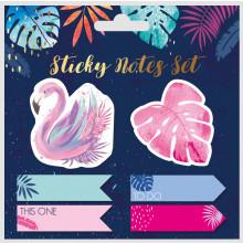 Tropicana Sticky Notes Set