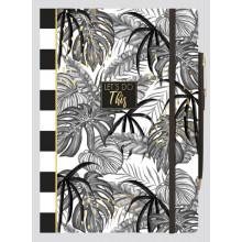 Tropical Noire A5 Notebook & Pen
