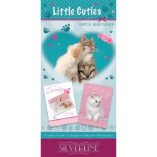 Silverline Little Cuties Card Unit