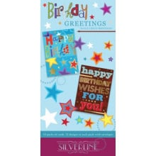 Silverline Birthday Greetings Male
