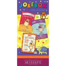 Silverline Jokebox Humour Card Unit