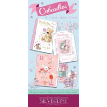 Silverline Caboodles Cute Card Unit