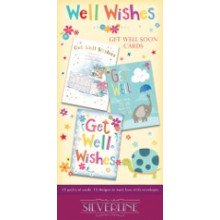 Silverline Well Wishes Card Unit