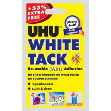 Uhu White Tack + 33% Free
