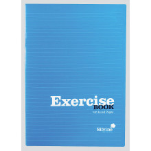 Silvine A4 Exercise Book Red/Blue 120pg
