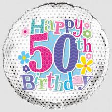Foil Balloon Age 50 Female