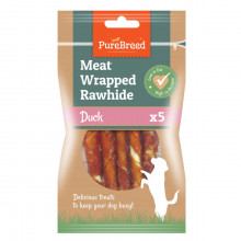 Meat Wrapped Rawhide Duck