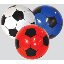 "Football 22cm/8"" 3 Assorted (Deflated)"