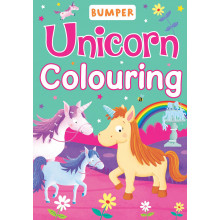 Unicorn Bumper Colouring Book