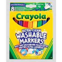 Crayola Ultra-Clean Washable Markers 8s