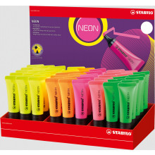 Stabilo Boss Neon Tube Highlighters Asst
