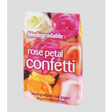 Rose Petal Confetti Biodegradable