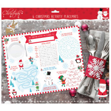 Christmas Activity Placemats 6's