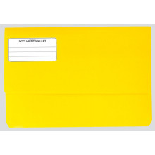 Foolscap Bright Hvy Duty Document Wallet
