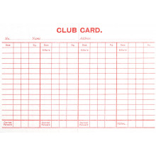 Club Cards Packet 100's (Silvine)