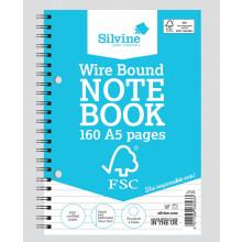 FSC A5 Twinwire Notebook Feint 160pg