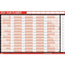 D0707 2021 Wall Planner + Pen