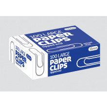 Paper Clips 33mm 100's
