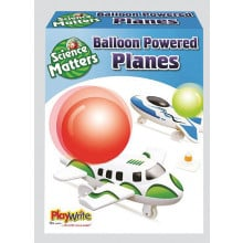 Science Matters Balloon Powered Planes