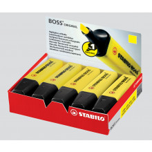 Stabilo Boss Yellow Highlighter Boxed