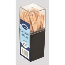 Wooden Cocktail Sticks Pack 100