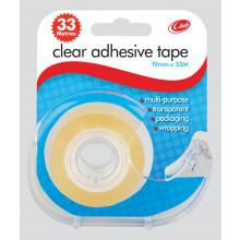 Clear Tape 19mmx33m + Dispenser