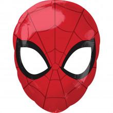 "Foil Balloons Spiderman Face 12"""