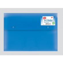 Polyprop A4 Gusset Wallet Assorted