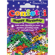 Confetti Happy Birthday Multi CON801