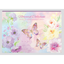 Les Papillon Note Cards 16's