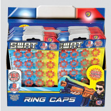 SWAT Mission 8-Shot Ring Caps Pack 20