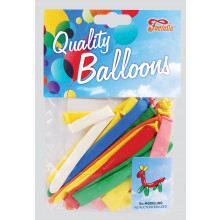 Extra Large Modelling Balloons 15s Asst
