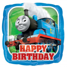 "Foil Balloons Thomas & Friend Pillow 18"""
