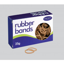 Rubber Bands 25gm No.18 1.2x76mm