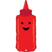"Ketchup Bottle Foil Balloon 35"" Shape"
