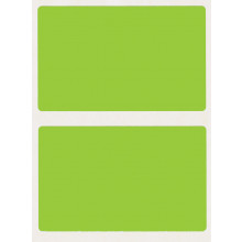 S/A LABELS REF.GREEN 50x80mm