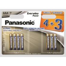 Panasonic Alkaline Batteries AAA 4+3 FOC