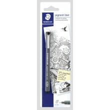 Staedtler Pigment Liner Pen 0.1 Black